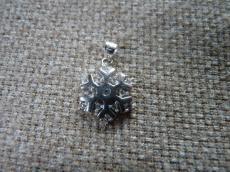 925 ezüst hópehely medál