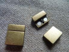 13 mm-es bőrhöz mágneses kapcsoló antik réz